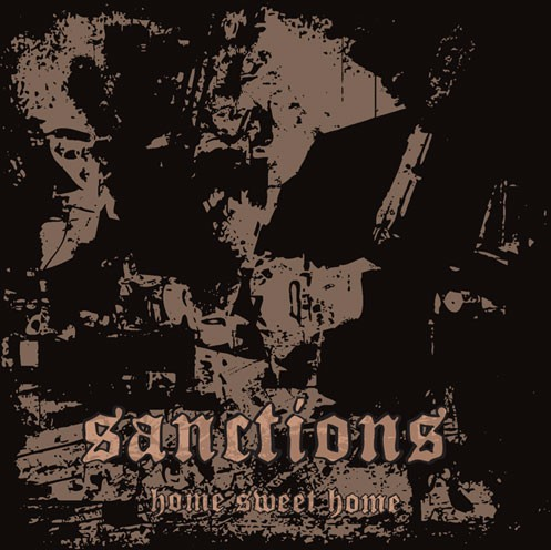 Sanctions- Home Sweet Home -CD Anti Corp/ Meat Cube records