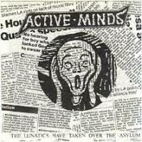"Active Minds-The lunatics have taken over the asylum 7"" (flexi)  -Loony Tunes + 8 record labels"