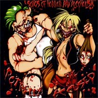 """Accused / Potbelly  Songs Of Horror And Alcoholism (Split) 7"""" - Pig Records"""