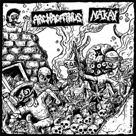 "ARCHAGATHUS / NAK'AY split 10"""