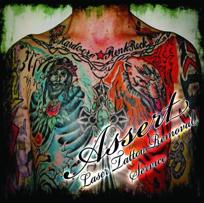 ASSERT-laser tattoo removal service ( punk/hardcore legend from uk) CD –Anifbio records