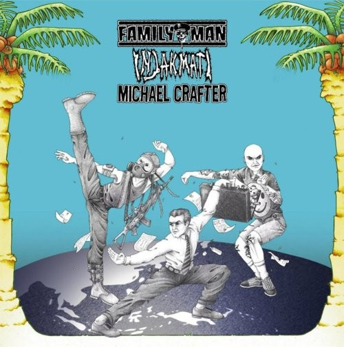 FAMILY MAN / INJAK MATI / MICHAEL CRAFTER - 3 Way Split CD - Deathmutt Records