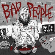 "Bad People - ""Pearls Before Swine"" EP - Feeble Minds/Feral Kids/Ut Records"