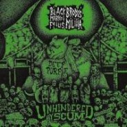 "BRODY'S MILITIA / BLACK MARKET FETUS ""Unhindered By Scum"" Split 7"" EP - Give Praise Records"