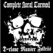 """D-Clone/Mauser/Folkeiis """"Complete Aural Turmoil"""" Split 7"""" -Hardcore Survives Records"""