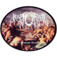 "KRATORNAS ""HOLLOW GROUND DESTRUCTION - PICTURE DISC 7"" Fudgeworthy Records"