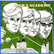 "Liar's Academy - Run For Cover - 7"" Goodwill Records"
