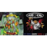 Over The Top / Hippycore - Split LP- That Lux Good (plus others) Records