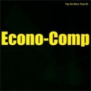 ECONO-COMP - COMP CD - RECORDS ON TAP