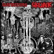 """Warvictims / Skunk - split 7"""" -Skull Crasher Records"""