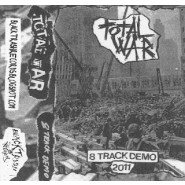 TOTAL WAR - 8 tracks demo (2011) Tape - Black Trash Records