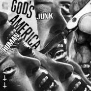 "Human Junk / Gods America Split 7"" - Black Trash Records"
