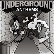 "V/A - Underground Anthems with D77 / ALBERT FISH / ULTIMA SACUDIDA / RED UNION -  7"" - Zerowork Bandworm/Can I Say?/Die Ültima Chords/Infected/Your Poison Records"